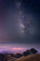Magic Mountain (thefatrobot) Tags: night star stargazing milky way galaxy longexposure nature landscape fog trees astrophotography