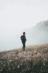 The Space Between Two Worlds (spaceabstract) Tags: adventure bayarea california cinematic explore fog hike landscape marin mountain portrait sony tam tamalpais vsco
