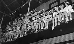 saddle-shoes-2030 (Saddle Shoe Habitat) Tags: saddleshoes saddleoxfords vintage blackandwhite girls teens nostalgia 1940s 1950s 1960s 1970s cheerleaders school kids bw retro bobbysocks bobbysox skirts legs dresses