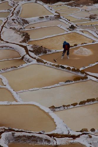 Maras salt ponds