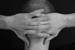 (Marie.Schwarze) Tags: hands bw black white monochrome details hand human people character portrait macro canon art studies