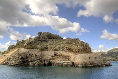 Spinalonga defences