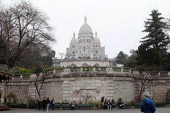 Parigi (CarloAlessioCozzolino) Tags: paris france church montmartre persone chiesa francia peple parigi basiliquedusacrcur