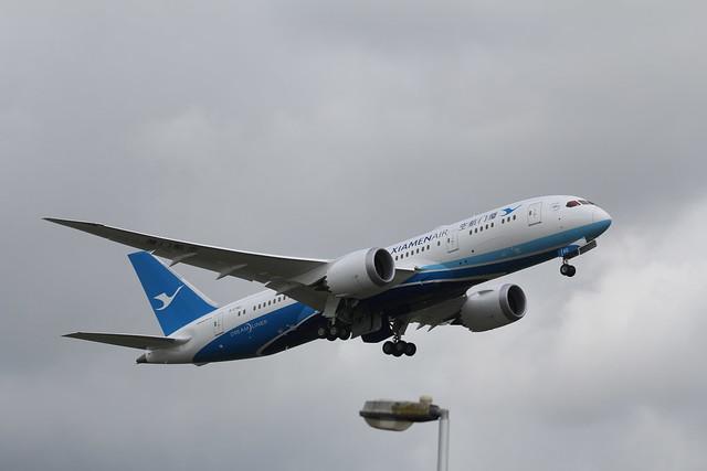 B-2762 Boeing 787-8 Xiamen Air
