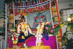 Wedding ceremony of Lord Vishnu and Goddess Lakshmi (Inverness, FL)