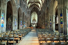 Lichfield Cathedral, The Nave (Heaven`s Gate (John)) Tags: art stone architecture interior gothic nave lichfield lichfieldcathedral vaulting 10faves johndalkin heavensgatejohn