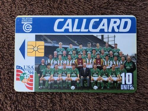telecom eireann ireland pre pay phone call cards world cup usa 1994 - Payphone Calling Cards