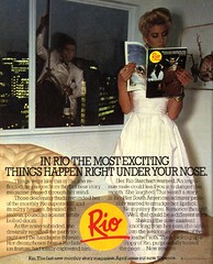 Rio - 1981 (rchappo2002) Tags: uk england rio vintage magazine advertising tv britain ad retro advertisement story 80s advert 1981 times eighties 1980s monthly 81
