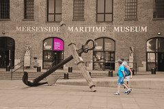 Enjoy A Glimpse Into The Past (Stephen Whittaker) Tags: street colour building history museum sepia liverpool dock albert pop maritime past selective