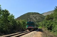 ALn 668.3303 Sulmona - L'Aquila (c_2323) Tags: train rail paesaggi treno abruzzo trenitalia aln668 sulmonalaquila acciano trenonatura