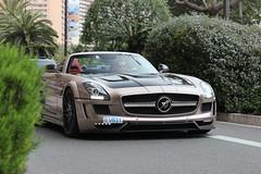 The HAWK (MonacoFreak) Tags: summer sun cars car mercedes benz amazing hawk lifestyle montecarlo monaco custom tuning supercar sls amg roadster hamann 2015 topmarques