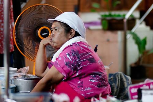 Un peu de fraîcheur, Hua Hin night market