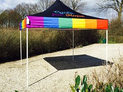 Quick Folding Tent - Goede Doelen Cycle For Hope Tent