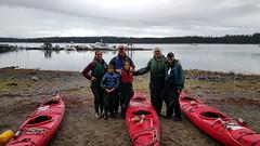 Ready to go sea kayaking