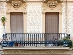 Badalona - Pg. Rambla 13 c (Arnim Schulz) Tags: barcelona espaa art window architecture liberty ventana spain arquitectura arte fenster kunst catalonia finestra artnouveau gaud architektur catalunya espagne fentre modernismo catalua spanien modernisme jugendstil espanya katalonien stilefloreale belleepoque baukunst