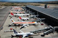 A full TS4 at LEMD (iratxo.pichel) Tags: madrid planes mad t4 aviones barajas lemd aeropuertoadolfosuárez