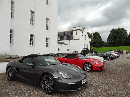 Blair Castle Concours PCGB event