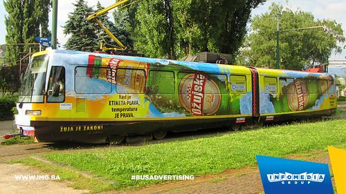 Info Media Group - Ožujsko pivo, BUS Outdoor Advertising, Sarajevo 06-2015 (1)
