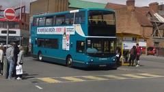 Arriva North West (Winsford), ALX 400 / Volvo B7TL,  CX55 EAJ (4102) (NorthernEnglandPublicTransportHub) Tags: