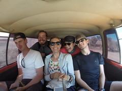 Photo de 14h - Retour de la Pampa avec Anaïs et Maxime (Bolivie) - 03.08.2014