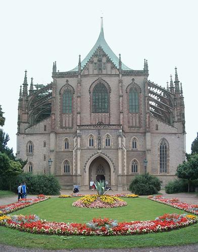 Kutná Hora, Szent Borbála-székesegyház