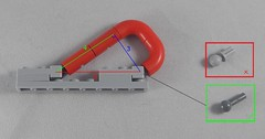 Pipe angling (donuts_ftw) Tags: lego moc tablescrap pipe pythagoreantheorem triangle