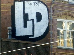 On Top (Quetzalcoatl002) Tags: graffity graffiti ontop high large letters amsterdam obvious window