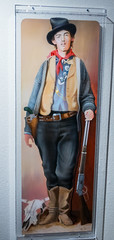 Painting of Billy the Kid (Serendigity) Tags: lincoln wildwest art museum usa painting unitedstates historic town newmexico