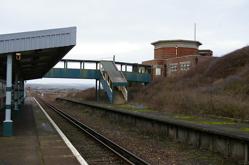 17-026  Bishopstone Station - five of five; the disused down platform