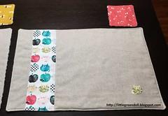 6709-Individuales-MugRug (Silvia LGD (Little Green Doll)) Tags: crafts patchwork fabrics telas dashwoodstudio handmade hechoamano individual mantelitoindividual placemat mugrug posavasos coaster individuales linen lino