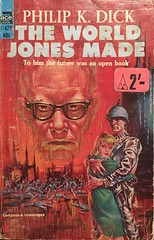 Vintage Sci-fi book. The world Jones made by Philip K Dick 1956