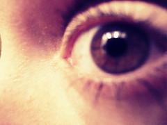 corner of my eye - MM (Bambola 2012) Tags: europe europa hrvatska croatia croazia zagreb zagabria eye occhio oko corner angolo kut macromondays viso face lice hazel smeđe