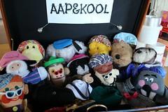 "NIEUWE REISACCOMMODATIE ""AAP&KOOL"" (Anne-Miek Bibbe) Tags: canoneosm annemiekbibbe bibbe nederland 2016 reisaccommodatie sinterklaascadeau sinterklaas kado poppen handpoppen puppets aapkool poppenkast poppenkastpoppen"