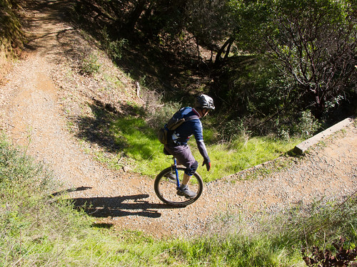 Climbing Bay View Trail