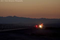 Eastbound leaving Amboy, CA (Travis Berryman) Tags: bnsf needlessub desertrailroading bagdad cadiz siberia