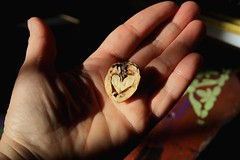 Offer. (Teteel) Tags: hearts hands colours nuts closeup