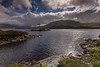 Assynt. (Gordie Broon.) Tags: lochassynt assynt sutherlandshire island hills scotland scenery schottland landscape ecosse paisaje heuvels scenic collines lochinver inchnadamph littleassynt scottishhighlands szkocja caledonia coastline scotspines elphin ullapool escocia scozia alba light paysage colinas sky clouds gordiebroonphotography evening tottio lago meer geotagged canon5dmklll canon1635f4l beinngharbh skiagbridge