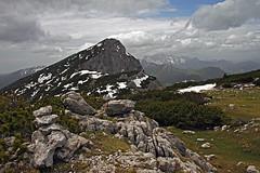 Lanez, the view on Mala Raduha (Vid Pogacnik) Tags: slovenia slovenija kamnikandsavinjaalps mountain hiking panorama landscape outdoor mountainside mountainridge