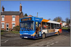 35218, West Haddon (Jason 87030) Tags: westhaddon twitchingcurtains bint noseyparker northants northamptonshire dennis dart stagecoach 2017 february 96 northampton rugby canon kx56jyy 35218