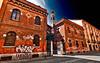 Empty street (Marco Trovò) Tags: marcotrovò hdr canon5d milano italia italy city street strada naviglio waterway chiesa church santamariadellegraziealnav viacorsico città