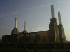 Battersea Tower (KathrynYoung3) Tags: batterseapowerstation london pinkfloyd