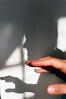 (EYLUL ASLAN) Tags: hand touch reach shadow light man finger face portrait