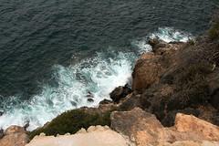 Vertigo (H&T PhotoWalks) Tags: vertigo rocks sea coast mediterraneansea bahiademazarrón laazohía murcia spain canoneos400d sigma18250 perspective pov pointofview