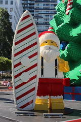 Auckland (ambodavenz) Tags: lego christmas tree aotea square auckland central business district cbd new zealand surfing santa