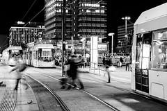 < 7. ALEX PART I > (JungerNeuköllner) Tags: berlin alex people humansofberlin tram bvg lzb lichtzieher rushhour darkness dark lights lightness houses stau öpnv part 1365