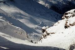 Shortcut (No_Mosquito) Tags: cliff ski trip steep alps tauern salzburg austria europe gastein badgastein stubnerkogel winter cold canon powershot g7xmarkii g7x scenery landscape rocks