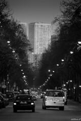 """""""Towers"""" Tours de chinatown,13 ème arrondissement de Paris. (capteur de souvenirs) Tags: paris13 paris paname 13°arrondissement tour tower light lumière trafic urbain urabanisme chinatown quartierchinois noiretblanc nb street rue ville city"""