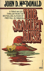 Novel-The-Scarlet-Ruse-by-John-D-MacDonald (Count_Strad) Tags: novel book pages read reading pulp johndmacdonald agathachristie mystery suspense