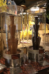 Chocolate Fountains (demeeschter) Tags: switzerland luzern root aeschbach chocolatier chocolate production museum attraction exhibition company showroom