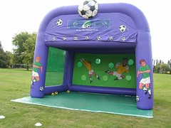 Penalty Shootout. A massive 20x20 ideal for any event. £100 per hire.